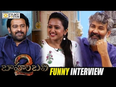 Baahubali 2 - The Conclusion Movie Team Special Interview || SS Rajamouli, Prabhas - Filmyfocus.com