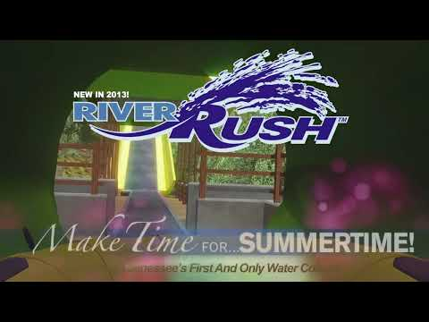 RiverRush - Tennessee's First and Only Water Coatser Coming to Dollywood's Splash Country