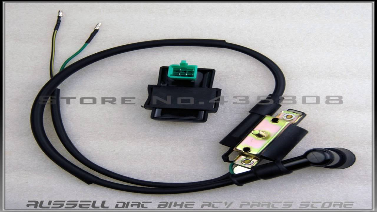 Taotao 4 Stroke Ignition Coil For Chinese Made 110cc 125cc Atv Dirt Tao Wiring Harness Bike Go