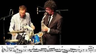 Luigi Grasso - Terrific   Alto Sax Solo Transcription (w/ Ignasi Terraza Trio)