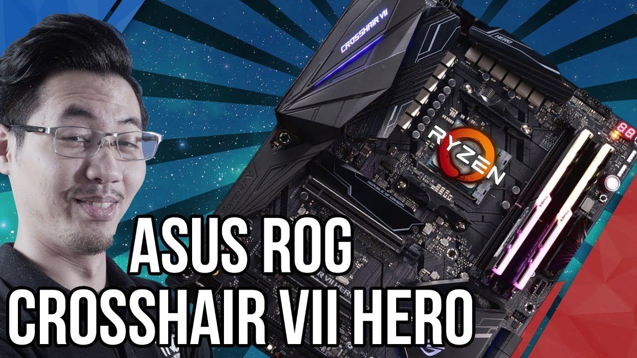 Đập Hộp Mainboard Asus ROG Crosshair VII Hero, chipset X470 CỰC XỊN Cho Dân Ép Xung! | TNC Channel