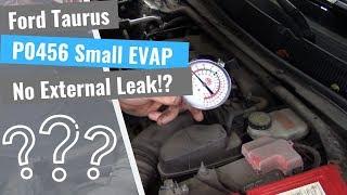 ford-taurus-p0456-small-evap-leak-no-visable-smoke