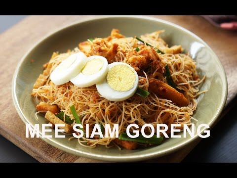 How To Cook The Best Mee Siam Goreng Youtube