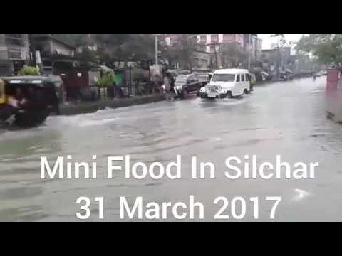 Mini Flood In Silchar Assam| Water Everywhere In The City Of Love