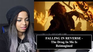 Music Teacher Reacts to FALLING IN REVERSE -  The Drug In Me Is Reimagined