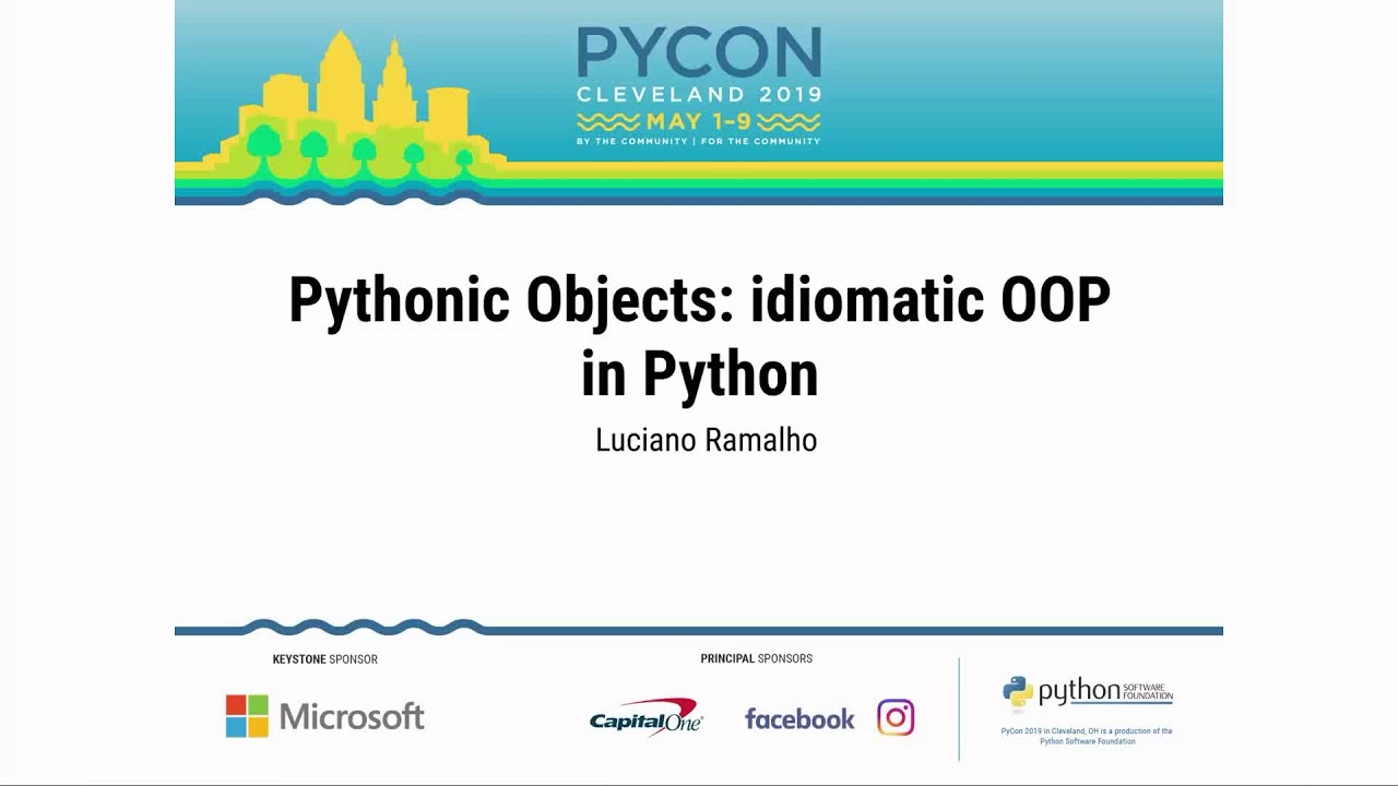 Image from Pythonic Objects: idiomatic OOP in Python