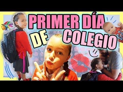 ¡Primer DÍA de CLASES! | La VUELTA al COLE de ELAIA 🏫 | Familia Carameluchi
