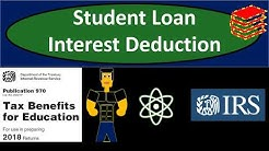 Student Loan Interest Deduction 2018 - Income Tax