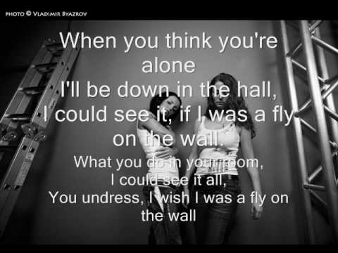 Fly on the wall - Instrumental with lyrics