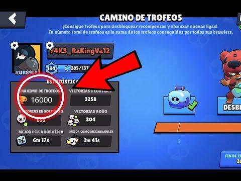 Llegando A 16000 Copas! | Brawl Stars