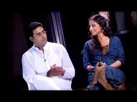 Vidya Balan and Abhishek Bachchan promote Paa as a couple Mp3