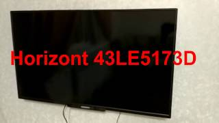 Обзор телевизора Horizont 43LE5173D