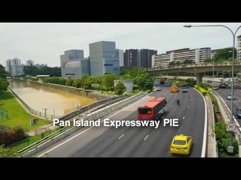w music tourist attraction in singapore : cycling Indoor stadium to Pasir Ris farmway 1