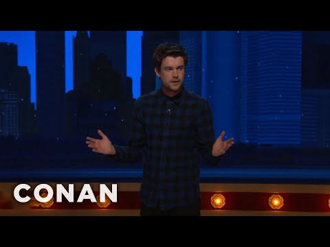 Jack Whitehall Misses Having A Dumb Phone  - CONAN on TBS