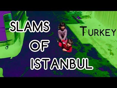 Slums of Istanbul, Turkey