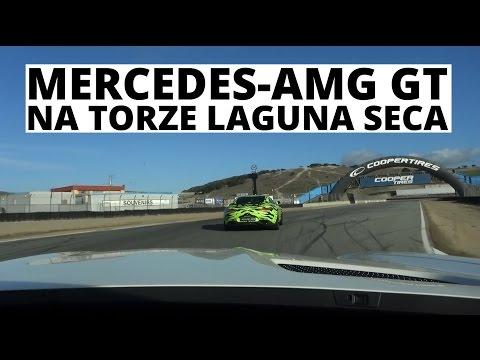 Mercedes-AMG GT na torze Laguna Seca