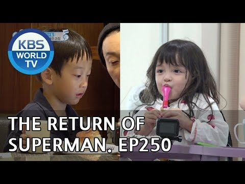 The Return of Superman |슈퍼맨이 돌아왔다 - Ep.250: From Mt. Halla to Mt. Paektu Part 2 [ENG/IND/2018.11.11]