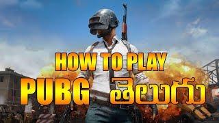 How to Play Pubg Mobile in Telugu   Beginners Guide   KTX Telugu Gamer