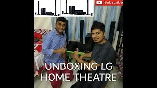 LG Home Theatre (LHD457) Unboxing and Review
