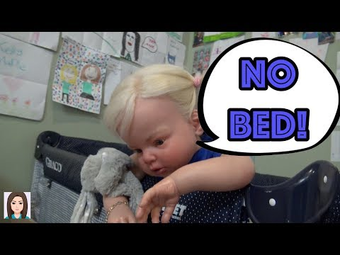 Laura Doesn't Want To Go To Bed! Reborn Toddler Night Routine!