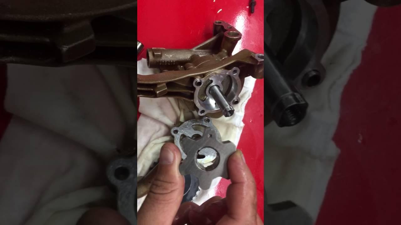 Bmw S54 engine oil pump upgrade to Vac Motorsports kit