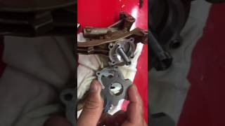 Bmw S54 engine oil pump upgrade  to Vac Motorsports kit