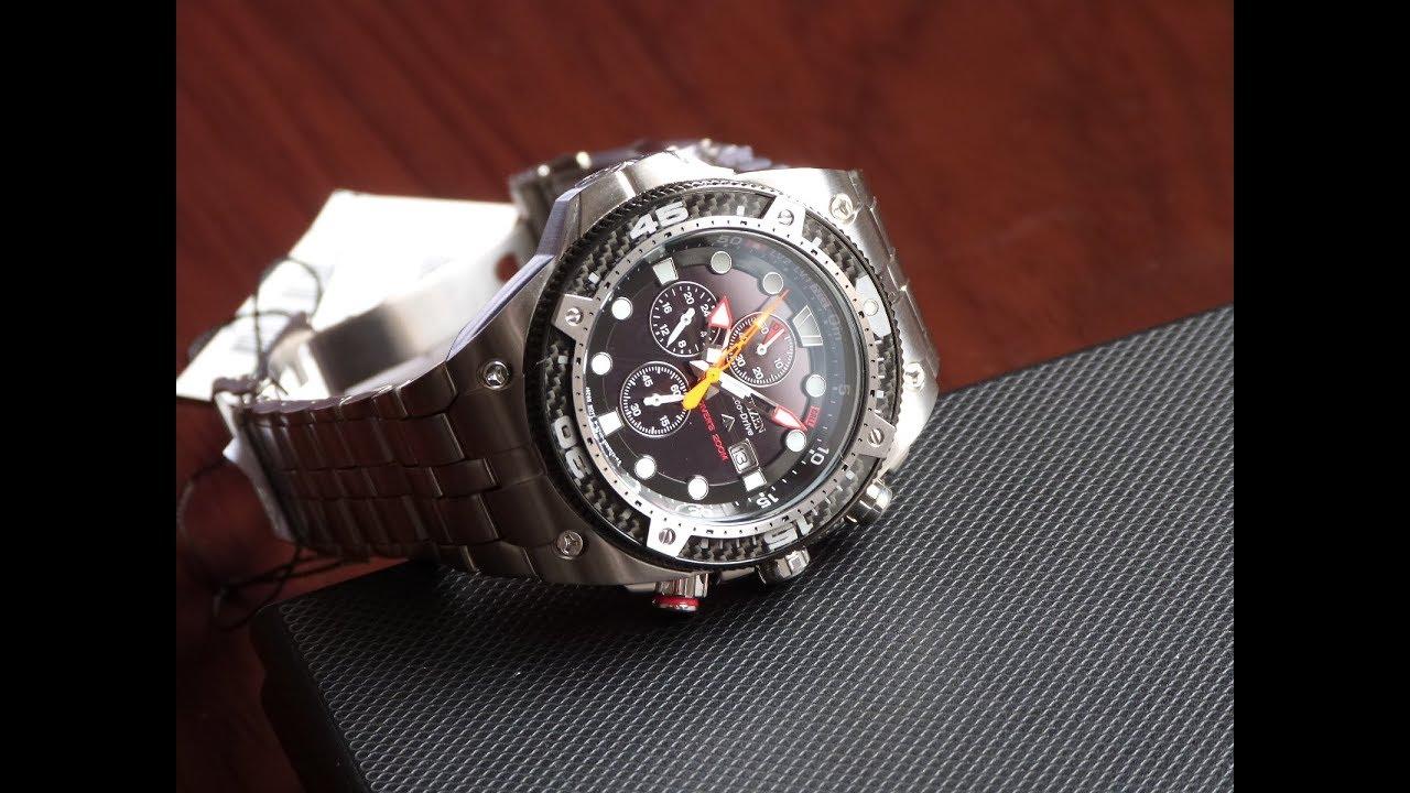 82a62428164 Relógio Citizen Promaster Carbon BJ2105-51E TZ30339D Eco-Drive Masculino  Mergulho 200 metros