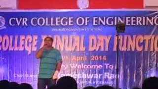 cvr college annual day 2k14 performance
