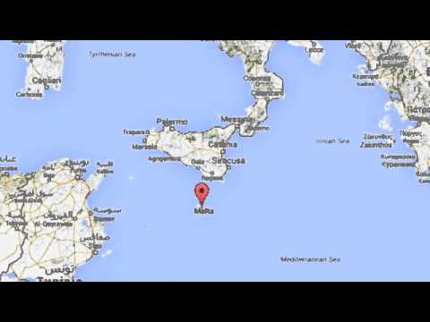 Malta map youtube malta map gumiabroncs Gallery
