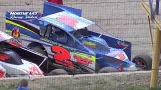 Jake Davis Memorial  Dirt Modified Racing from Woodhull Raceway in Woodhull NY