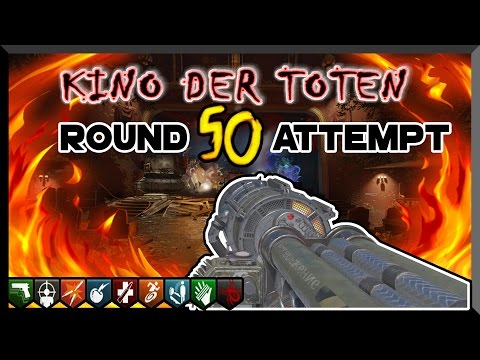 📽'KINO DER TOTEN' REMASTERED HIGH ROUND LIVE!!!📽(Black Ops 3 Zombies DLC 5 Gameplay)