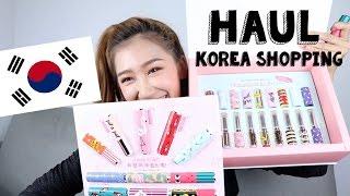 Haul Korea Shopping  l ไปเกาหลีกับอิทูดี้ รอบนี้ได้เครื่องสำอางอะไรมาบ้าง