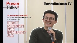 "Gambar cover ""Right Mindset for Industry 4.0"" Ala Gunawan Susanto"