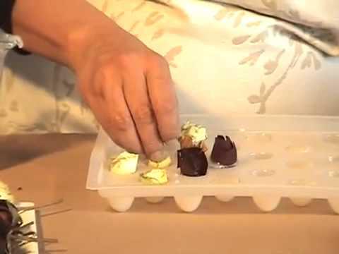 C mo hacer jabones en forma de trufa youtube - Como hacer puff artesanales ...