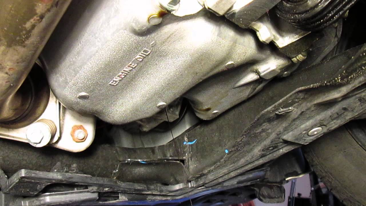 How to Change Engine Oil and Filter In 2012 Honda Civic ...