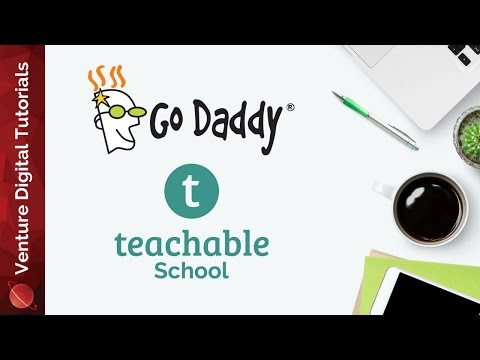 Setup A Custom Domain For Teachable On GoDaddy
