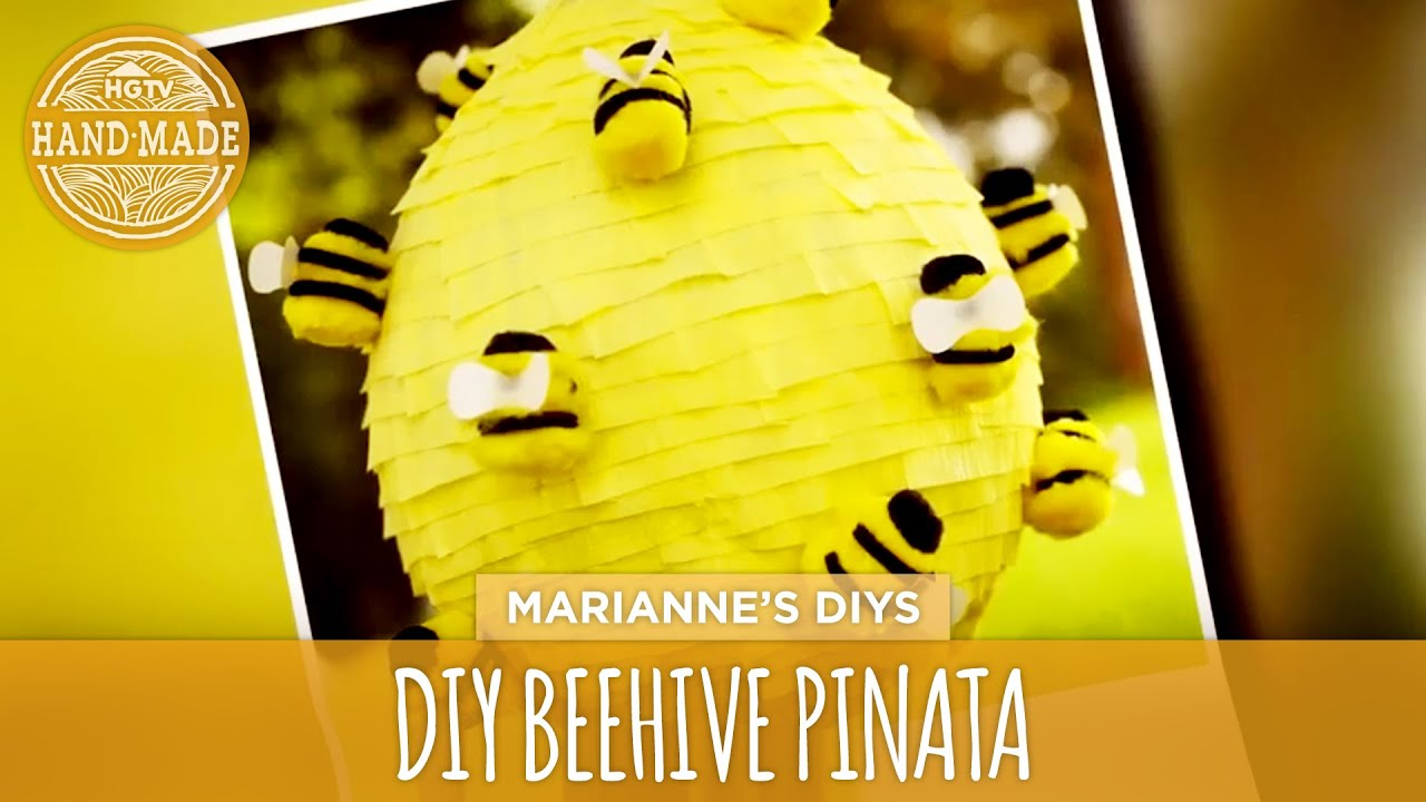 How To Make A Beehive Craft