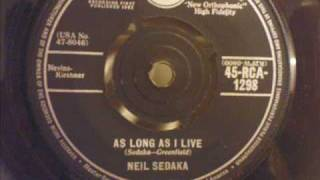 Neil Sedaka - As Long As I Live