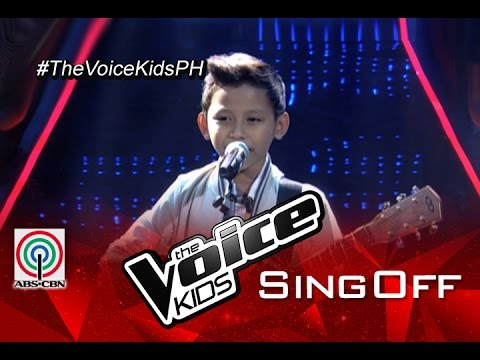 """The Voice Kids Philippines 2015 Sing-Off Performance: """"Cecilia"""" by Gian"""