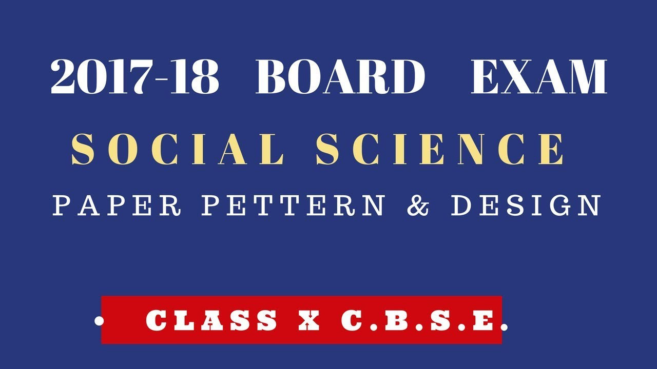 science board format