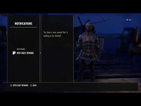 The Elder Scrolls Online - Daily Rewards: Unlock Combustion Ardent Flame, Destroy Weapons (2015)