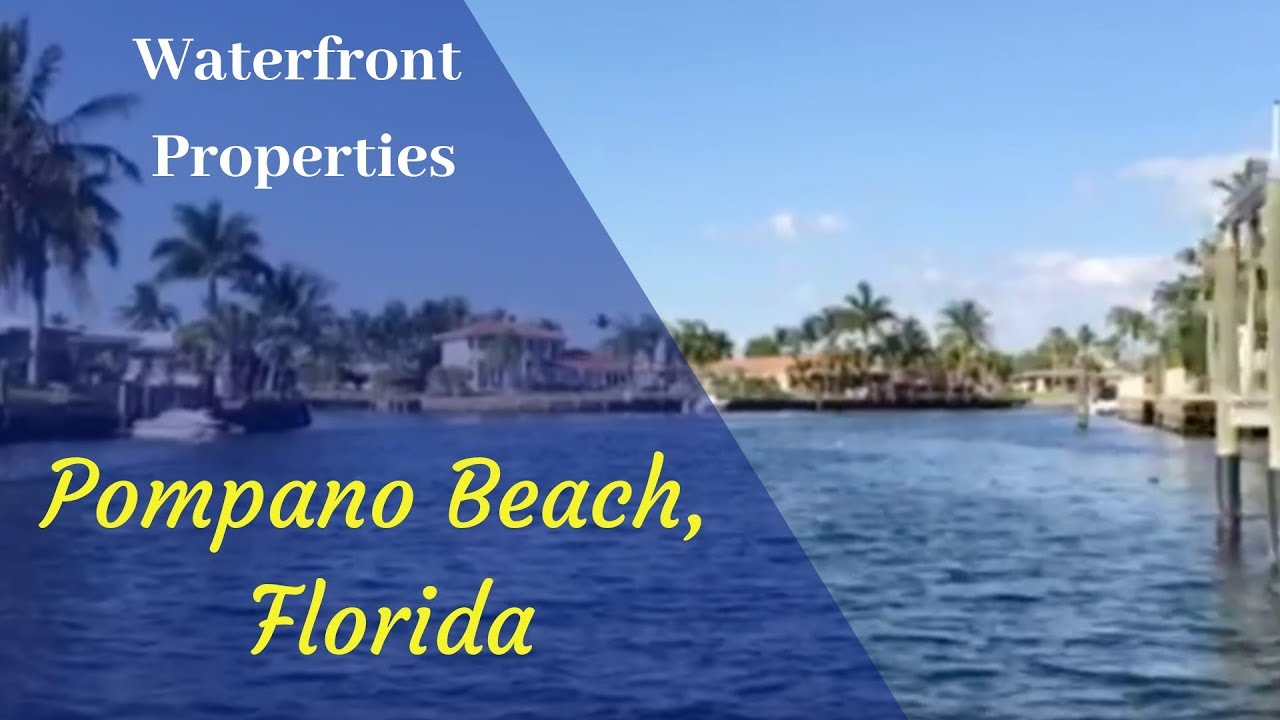 Pompano Beach Florida Waterfront Property | Kristi Milligan