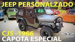 UM 4X4 ANTIGO E MODERNO! Jeep CJ5 1966, capota especial, 2.0 totalmente personalizado! Trocar A. A.