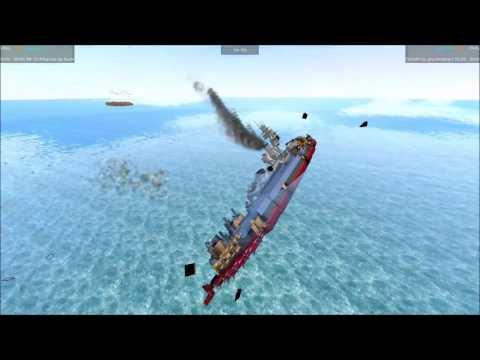 From The Depths Tournament Battleship Brawl S3E88 BB 33 Arkansas vs Goliath