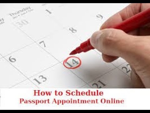 How To Schedule Appointment In Passport Seva Kendra (Tamil) (தமிழ்)