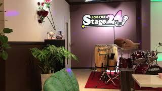 カラオケ喫茶ステージ 24 で照ちゃんが、ひとり北国を歌いました.