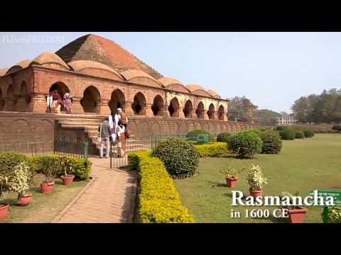 Bishnupur Terracotta Temples (Rasmancha Jor Bangla Shyamray Madanmohan Dalmadal) Bakura West Bengal
