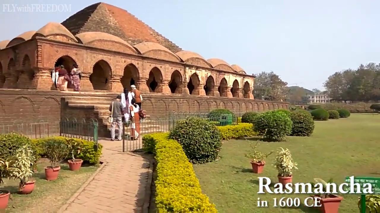 Bishnupur Terracotta Temples (Rasmancha Jor Bangla Shyamray Madanmohan  Dalmadal) Bakura West Bengal - YouTube
