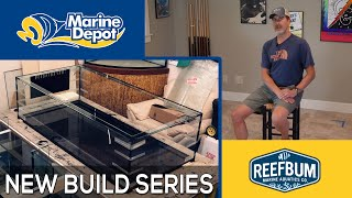 New Build Series!  3 Glass Walls with Reefbum Part 1