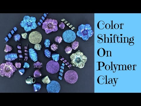 Polymer Clay Tutorial NEW Dragonfly Glaze On Polymer Clay Beads For A Magical Color Shift Effect